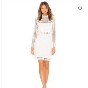 Vivian Dress in Ivory by Bardot